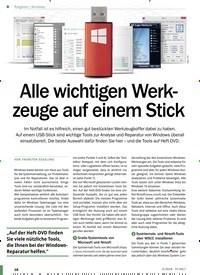 Titelbild der Ausgabe 5/2019 von Windows: Alle wichtigen Werkzeuge auf einem Stick. Zeitschriften als Abo oder epaper bei United Kiosk online kaufen.