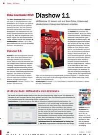 Titelbild der Ausgabe 6/2019 von News / Software: Diashow 11. Zeitschriften als Abo oder epaper bei United Kiosk online kaufen.