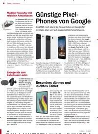 Titelbild der Ausgabe 7/2019 von Günstige Pixel- Phones von Google. Zeitschriften als Abo oder epaper bei United Kiosk online kaufen.
