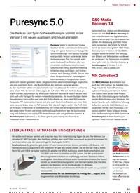Titelbild der Ausgabe 8/2019 von Software: Puresync 5.0. Zeitschriften als Abo oder epaper bei United Kiosk online kaufen.