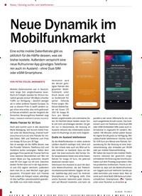 Titelbild der Ausgabe 9/2019 von Neue Dynamik im Mobilfunkmarkt. Zeitschriften als Abo oder epaper bei United Kiosk online kaufen.