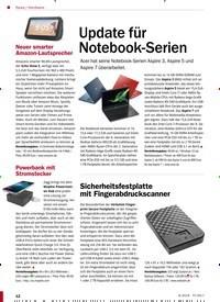Titelbild der Ausgabe 9/2019 von Hardware: Update für Notebook-Serien. Zeitschriften als Abo oder epaper bei United Kiosk online kaufen.