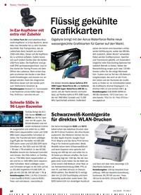Titelbild der Ausgabe 10/2019 von Hardware: Flüssig gekühlte Grafikkarten. Zeitschriften als Abo oder epaper bei United Kiosk online kaufen.