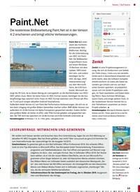 Titelbild der Ausgabe 10/2019 von Software: Paint.Net. Zeitschriften als Abo oder epaper bei United Kiosk online kaufen.
