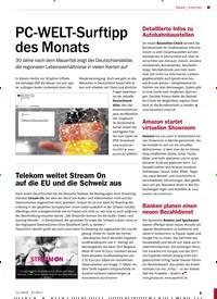 Titelbild der Ausgabe 11/2019 von Internet: PC-WELT-Surftipp des Monats. Zeitschriften als Abo oder epaper bei United Kiosk online kaufen.