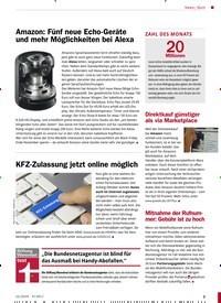 Titelbild der Ausgabe 12/2019 von KFZ-Zulassung jetzt online möglich. Zeitschriften als Abo oder epaper bei United Kiosk online kaufen.