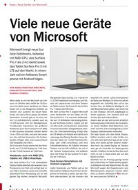 Titelbild der Ausgabe 12/2019 von Viele neue Geräte von Microsoft. Zeitschriften als Abo oder epaper bei United Kiosk online kaufen.