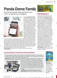 Titelbild der Ausgabe 1/2020 von Software: Panda Dome Family. Zeitschriften als Abo oder epaper bei United Kiosk online kaufen.