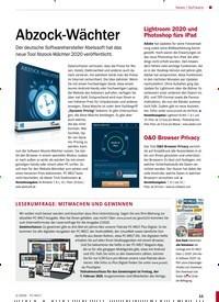Titelbild der Ausgabe 2/2020 von Software: Abzock-Wächter. Zeitschriften als Abo oder epaper bei United Kiosk online kaufen.