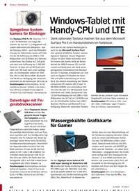 Titelbild der Ausgabe 2/2020 von Hardware: Windows-Tablet mit Handy-CPU und LTE. Zeitschriften als Abo oder epaper bei United Kiosk online kaufen.