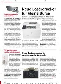 Titelbild der Ausgabe 4/2020 von Hardware: Neue Laserdrucker für kleine Büros. Zeitschriften als Abo oder epaper bei United Kiosk online kaufen.