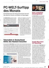 Titelbild der Ausgabe 4/2020 von nternet: PC-WELT-Surftipp des Monats. Zeitschriften als Abo oder epaper bei United Kiosk online kaufen.