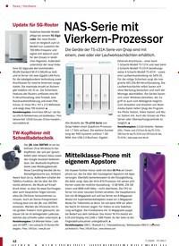Titelbild der Ausgabe 7/2020 von Hardware: NAS-Serie mit Vierkern-Prozessor. Zeitschriften als Abo oder epaper bei United Kiosk online kaufen.