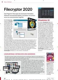 Titelbild der Ausgabe 7/2020 von Software: Filecryptor 2020. Zeitschriften als Abo oder epaper bei United Kiosk online kaufen.