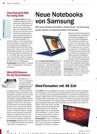 Titelbild der Ausgabe 8/2020 von Hardware: Neue Notebooks von Samsung. Zeitschriften als Abo oder epaper bei United Kiosk online kaufen.