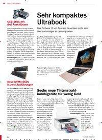 Titelbild der Ausgabe 7/2018 von Hardware: Sehr kompaktes Ultrabook. Zeitschriften als Abo oder epaper bei United Kiosk online kaufen.