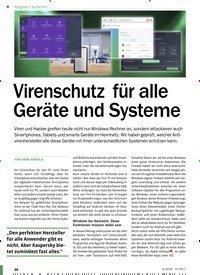 Titelbild der Ausgabe 9/2018 von Sicherheit: Virenschutz für alle Geräte und Systeme. Zeitschriften als Abo oder epaper bei United Kiosk online kaufen.