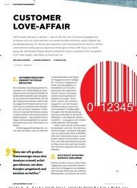 Titelbild der Ausgabe 1/2019 von CUSTOMER ENGAGEMENT: CUSTOMER LOVE-AFFAIR. Zeitschriften als Abo oder epaper bei United Kiosk online kaufen.