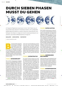 Titelbild der Ausgabe 1/2019 von BIG DATA: DURCH SIEBEN PHASEN MUSST DU GEHEN. Zeitschriften als Abo oder epaper bei United Kiosk online kaufen.