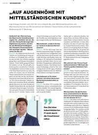 """Titelbild der Ausgabe 4/2019 von RECHENZENTREN: """"AUF AUGENHÖHE MIT MITTELSTÄNDISCHEN KUNDEN"""". Zeitschriften als Abo oder epaper bei United Kiosk online kaufen."""
