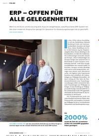 Titelbild der Ausgabe 5/2019 von ERP – OFFEN FÜR ALLE GELEGENHEITEN. Zeitschriften als Abo oder epaper bei United Kiosk online kaufen.