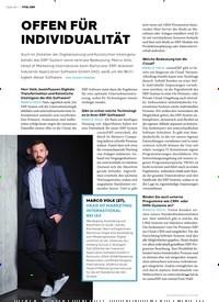 Titelbild der Ausgabe 5/2019 von OFFEN FÜR INDIVIDUALITÄT. Zeitschriften als Abo oder epaper bei United Kiosk online kaufen.
