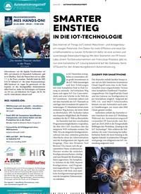 Titelbild der Ausgabe 1/2020 von SMARTER EINSTIEG: IN DIE IOT-TECHNOLOGIE. Zeitschriften als Abo oder epaper bei United Kiosk online kaufen.