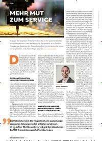 Titelbild der Ausgabe 3/2020 von MEHR MUT ZUM SERVICE. Zeitschriften als Abo oder epaper bei United Kiosk online kaufen.