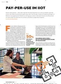 Titelbild der Ausgabe 3/2020 von PAY-PER-USE IM IIOT. Zeitschriften als Abo oder epaper bei United Kiosk online kaufen.