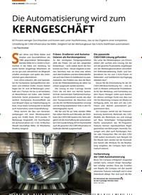 Titelbild der Ausgabe 7/2020 von CAM-Lösungen: Die Automatisierung wird zum KERNGESCHÄFT. Zeitschriften als Abo oder epaper bei United Kiosk online kaufen.