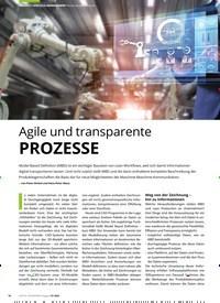 Titelbild der Ausgabe 7/2020 von Model Based Definition: Agile und transparente PROZESSE. Zeitschriften als Abo oder epaper bei United Kiosk online kaufen.