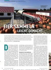 Titelbild der Ausgabe 1/2021 von Transportanlagen dezentral steuern: EIER SAMMELN LEICHT GEMACHT. Zeitschriften als Abo oder epaper bei United Kiosk online kaufen.