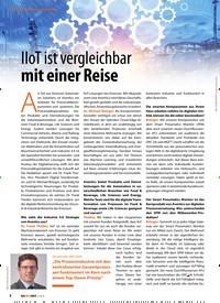 Titelbild der Ausgabe 2/2019 von IIoT ist vergleichbar mit einer Reise. Zeitschriften als Abo oder epaper bei United Kiosk online kaufen.