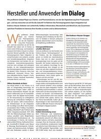 Titelbild der Ausgabe 2/2019 von Hersteller und Anwender im Dialog. Zeitschriften als Abo oder epaper bei United Kiosk online kaufen.