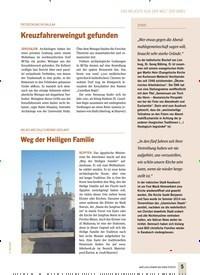 Titelbild der Ausgabe 4/2019 von NEUES WELTKULTURERBE GEPLANT: Weg der Heiligen Familie. Zeitschriften als Abo oder epaper bei United Kiosk online kaufen.