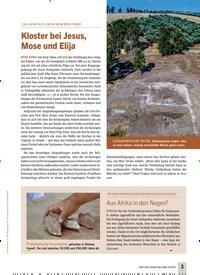 Titelbild der Ausgabe 4/2020 von 1300 JAHRE ALTE KIRCHE BEIM BERG TABOR: Kloster bei Jesus, Mose und Elija. Zeitschriften als Abo oder epaper bei United Kiosk online kaufen.