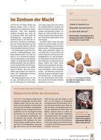 Titelbild der Ausgabe 4/2020 von LAGERRÄUME DER KÖNIGE HISKIJA UND MANASSE GEFUNDEN: Im Zentrum der Macht. Zeitschriften als Abo oder epaper bei United Kiosk online kaufen.