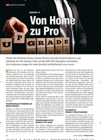 Titelbild der Ausgabe 7/2018 von WINDOWS 10: Von Home zu Pro. Zeitschriften als Abo oder epaper bei United Kiosk online kaufen.