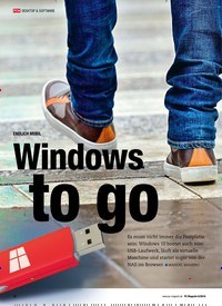 Titelbild der Ausgabe 8/2018 von TOOL-PAKET Windows To Go: ENDLICH MOBIL Windows to go. Zeitschriften als Abo oder epaper bei United Kiosk online kaufen.