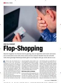 Titelbild der Ausgabe 9/2018 von BÖSE FALLE FAKESHOP: Flop-Shopping. Zeitschriften als Abo oder epaper bei United Kiosk online kaufen.