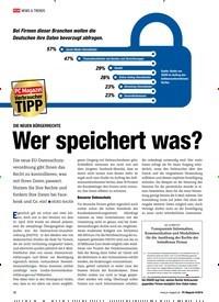 Titelbild der Ausgabe 9/2018 von DIE NEUEN BÜRGERRECHTE: Wer speichert was?. Zeitschriften als Abo oder epaper bei United Kiosk online kaufen.