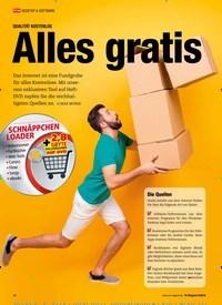 Titelbild der Ausgabe 9/2018 von QUALITÄT KOSTENLOS: Alles gratis. Zeitschriften als Abo oder epaper bei United Kiosk online kaufen.