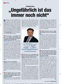 """Titelbild der Ausgabe 10/2018 von AKTUELL: STÖRERHAFTUNG: """"Ungefährlich ist das immer noch nicht"""". Zeitschriften als Abo oder epaper bei United Kiosk online kaufen."""