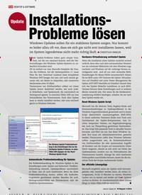 Titelbild der Ausgabe 11/2018 von Update: Installations-Probleme lösen. Zeitschriften als Abo oder epaper bei United Kiosk online kaufen.