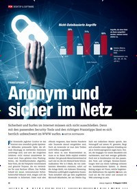 Titelbild der Ausgabe 11/2018 von PRIVATSPHÄRE: Anonym und sicher im Netz. Zeitschriften als Abo oder epaper bei United Kiosk online kaufen.