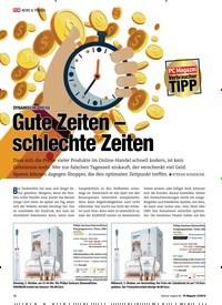 Titelbild der Ausgabe 12/2018 von Verbraucher TIPP: DYNAMISCHE PREISE: Gute Zeiten – schlechte Zeiten. Zeitschriften als Abo oder epaper bei United Kiosk online kaufen.