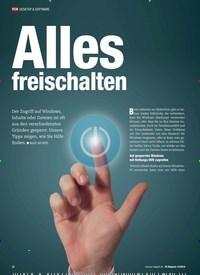 Titelbild der Ausgabe 12/2018 von Alles freischalten. Zeitschriften als Abo oder epaper bei United Kiosk online kaufen.
