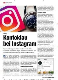 Titelbild der Ausgabe 1/2019 von HACKER: Kontoklau bei Instagram. Zeitschriften als Abo oder epaper bei United Kiosk online kaufen.