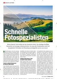 Titelbild der Ausgabe 1/2019 von Schnelle Fotospezialisten. Zeitschriften als Abo oder epaper bei United Kiosk online kaufen.