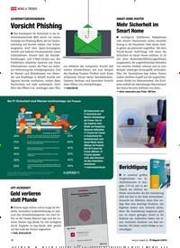 Titelbild der Ausgabe 2/2019 von SICHERHEITSBEDROHUNGEN: Vorsicht Phishing. Zeitschriften als Abo oder epaper bei United Kiosk online kaufen.
